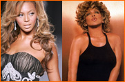 Beyonce and Tina Turner