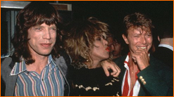 Jagger, Bowie and Turner